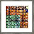 Candy Cage Framed Print