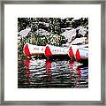 Canoe Rentals On The St Croix Framed Print