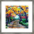 Canyon De Chelly In The Fall Framed Print