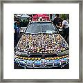 Car Of Teeth Framed Print