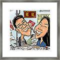 Caricature For Lance Framed Print
