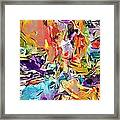 Carnival Abstract 082512 Framed Print