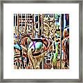 Carousel 7 - Fractals Framed Print