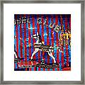 Carousel Club Framed Print