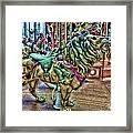 Carousel Color Framed Print