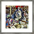 Carousel Horse 2 Framed Print by Paul Ward