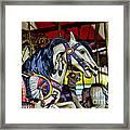 Carousel Horse 6 Framed Print by Paul Ward
