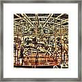Carousel With Horses Framed Print