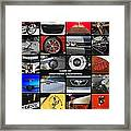 Cars Of Southern California Framed Print
