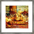 Cast Into The Wind Framed Print