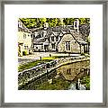 Castle Combe Riverside Framed Print