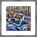 Catoctin Bench Framed Print