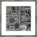 Celtic Cross Framed Print
