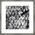 Chain Link Framed Print