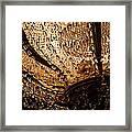 Chandelier Shimmer Framed Print