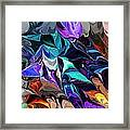 Chaotic Visions Framed Print