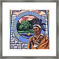Chief Logan Framed Print