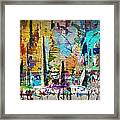 Child's Painting Easel Framed Print