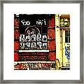 Chinatown Graffiti Framed Print