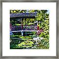 Chinese Gardens In Portland Oregon Framed Print
