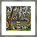 Christ Church Framed Print