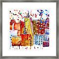 Cityscape 1 Framed Print