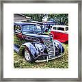 Classic Black Ford Framed Print