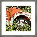Classic Car Forgotten Framed Print