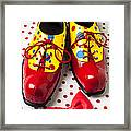 Clown Shoes  Framed Print
