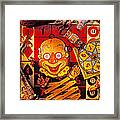 Clown Toy And Old Playthings Framed Print