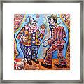 Clowns Framed Print