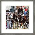 Clydesdales Framed Print