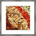 Cobb Salad Framed Print