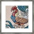 Cock A Doodle Doo Framed Print