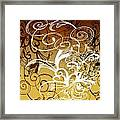 Coffee Flowers 1 Calypso Framed Print
