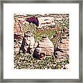 Coke Ovens - Colorado National Monument Framed Print