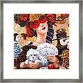 Colombina Framed Print