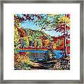 Color Rich Harriman Park Framed Print