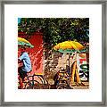Color Framed Print by Skip Hunt