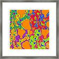 Colorful Abstract Painting No.274 Framed Print
