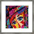 Colorful Expression 19 Framed Print