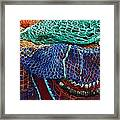 Colorful Fishing Nets 2 Framed Print