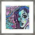 Colors Of Graffiti Framed Print
