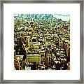 Concrete Jungle Framed Print