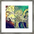 Confused Meanderings Framed Print by Paulo Zerbato