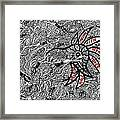 Coral Implodes With Human Touch...you Decide Framed Print