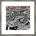 Coral Reacts To Human Touch.. It Dies Framed Print