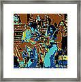 Cosmic Winter Blues 1975 Framed Print