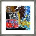 Country Patchwork Framed Print