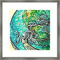 Creatures Can Understand And Absorb Framed Print